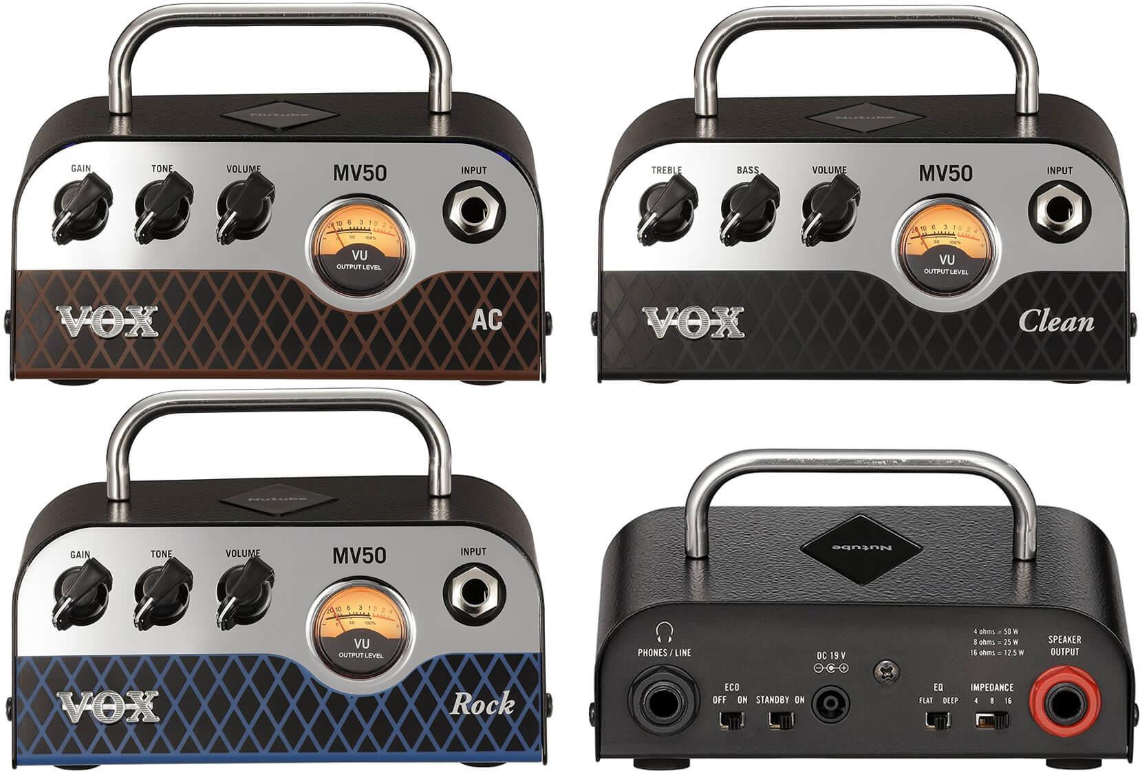 VOX MV50全モデル