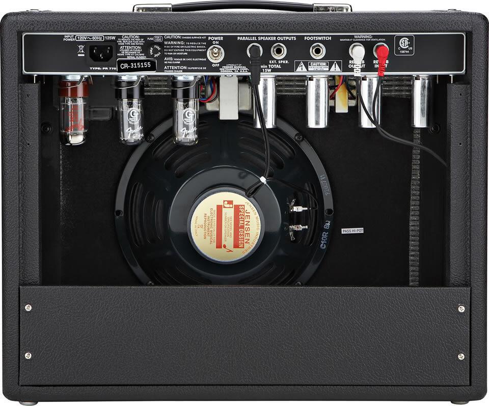 68 Custom Princeton Reverb:リアパネル