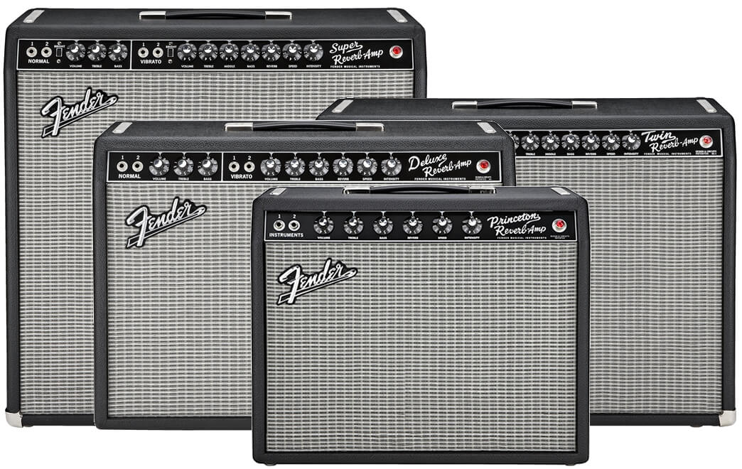 Fender 65 Reverbシリーズ