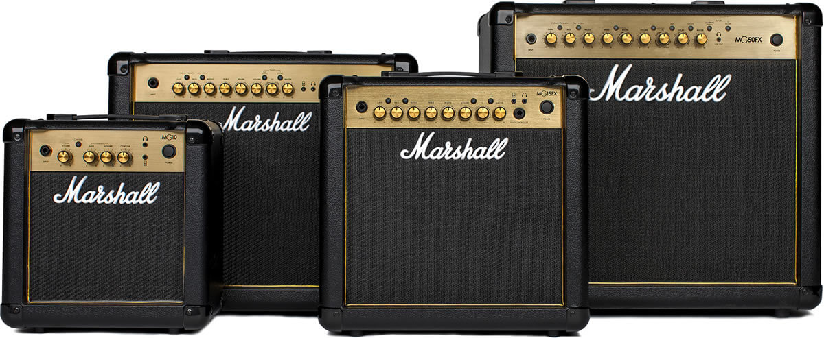 Marshall MG FX Gold