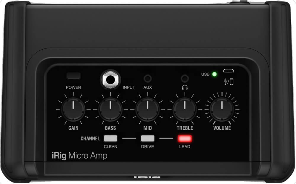 iRig Micro Amp:コントロール
