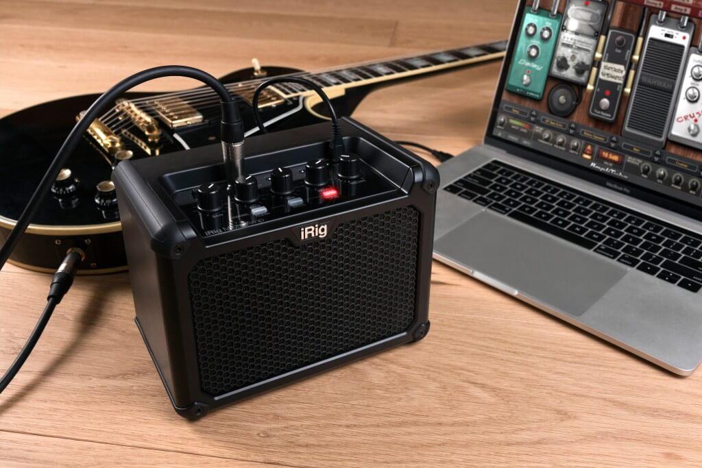 iRig Micro Amp:パソコンと接続